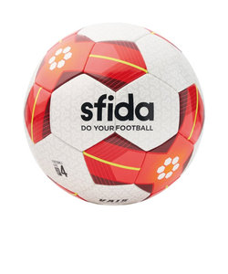 サッカーボール VAIS レッド BSF-VA03 WHT/RED