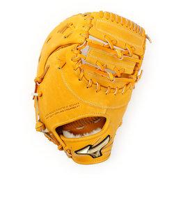ミズノ(MIZUNO)軟式用グラブ グローバルエリート Hselection02 一塁手用/TK型 1AJFR18300 54 《B》 収納袋付