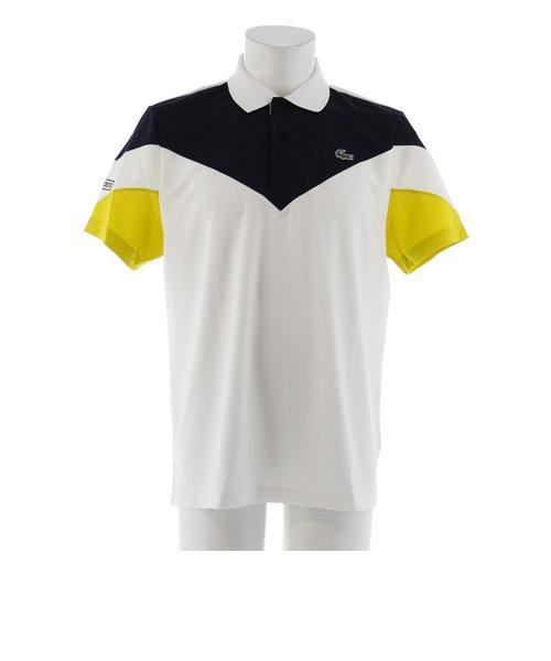 カラーブロックテニスポロシャツ DH7983-U3D