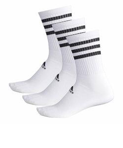 アディダス(adidas)ベーシック レギュラーソックス 3P BR6133
