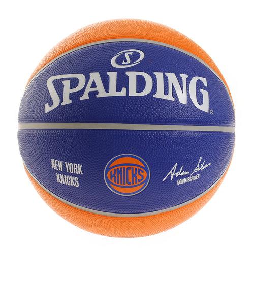 スポルディング(SPALDING)バスケットボール 7号球 (一般 大学 高校 中学校) 男子用 NBA NY KNICKS 83-509Z 自主練