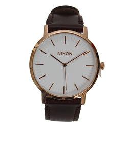 ニクソン(NIXON)ポーターレザーローズゴールド NA10582524-00XV