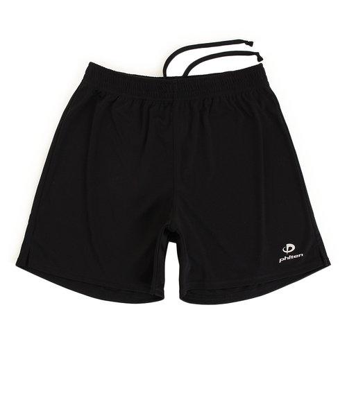 【ファイテン限定】 バレーボール ハーフパンツ ブラック (黒) 3118JG29400