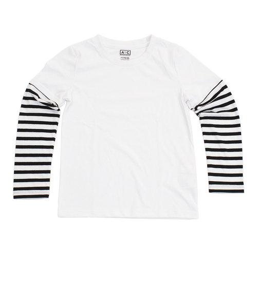 プリントロングTシャツ 865PA8CG2778 WHT オンライン価格