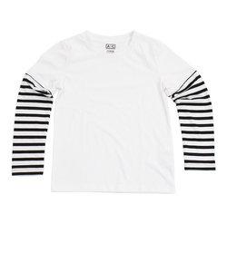 【オンライン限定特価】プリントロングTシャツ 865PA8CG2778 WHT
