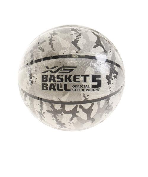 バスケットボール 5号球 (小学校用) ジュニア PU CAMO 781G8ZK1052
