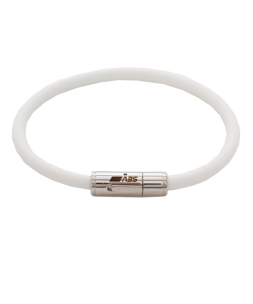 セブ(SEV)ルーパー ブレスレット 19cm ホワイト