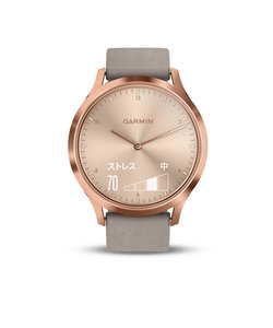 ヴィヴォムーブHR vivomove HR RoseGold GraySuede 185079