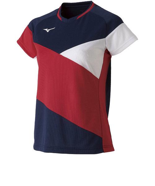 バドミントン ウェア ゲームシャツ 72MA922114