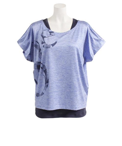 【オンライン限定特価】フィットネスTシャツ タンクトップセット HU19SUK821909 SAX