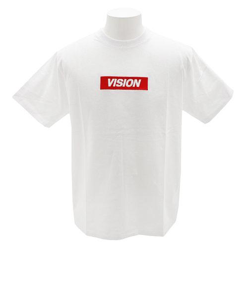 ヴィジョン(VISION)Tシャツ 半袖 BOXロゴTシャツ 9523103-06OFF