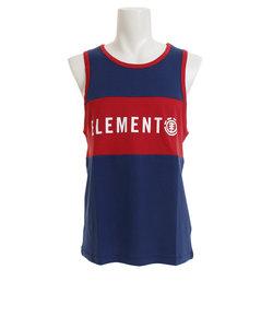 エレメント(ELEMENT)PANELED MESH TANK タンクトップ AJ021355 NVY オンライン価格