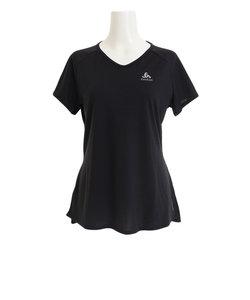 オドロ(ODLO)Tシャツ レディース 半袖 クルーネック Cera 312611black