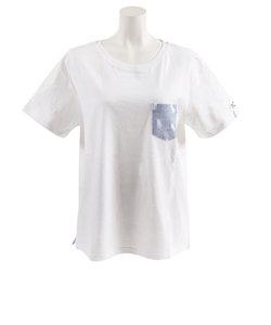 ロキシー(ROXY)Tシャツ 半袖 FADED PRINT POCKET 19SPRST191601YWHT