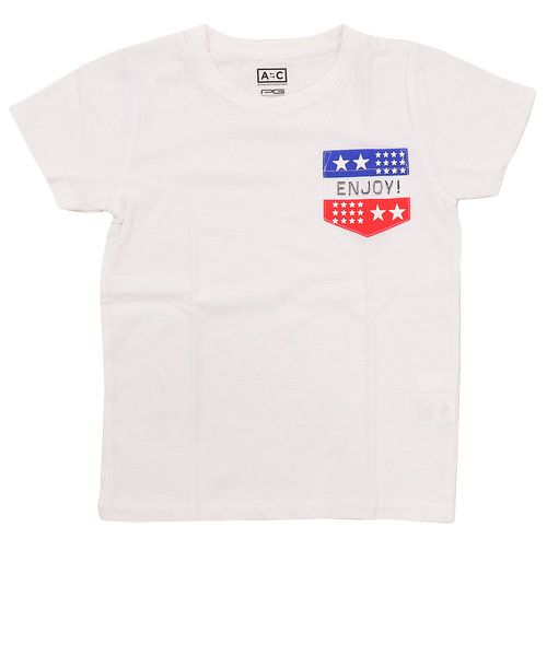 ボーイズ 半袖Tシャツ 865PA9JY9269 WHT オンライン価格