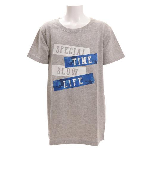 ボーイズ 半袖Tシャツ 865PA9JY9274 GRY オンライン価格