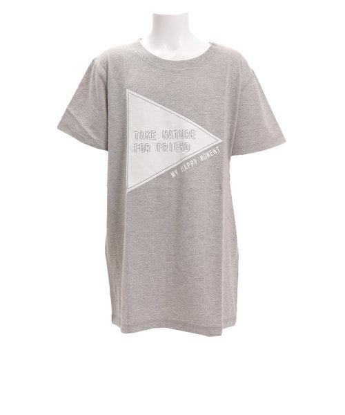 ガールズ 半袖Tシャツ 865PA9JY9279 GRY オンライン価格