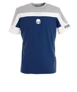 テニス ウェア メンズ Tシャツ 半袖 TECH T00125 BLUE