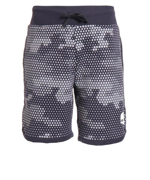 テニス ウェア メンズ TECH CAMO ショーツ T00127 BLACK