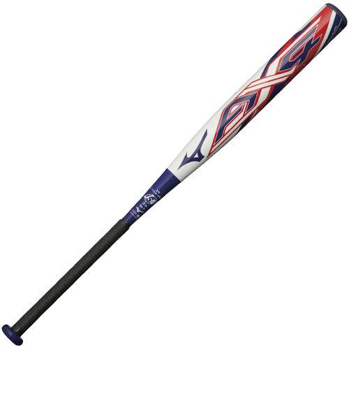 ソフトボール用FRP製バット AX4 84cm/平均710g 3号ゴムボール用 1CJFS30884 0114