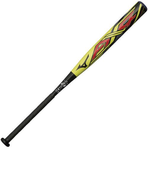 ソフトボール用FRP製バット AX4 84cm/平均680g 3号ゴムボール用 1CJFS30884 4509