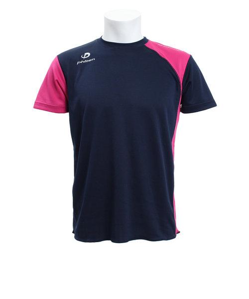 【ゼビオグループ限定】 サイド切替半袖Tシャツ NV/PK 3119JG33510