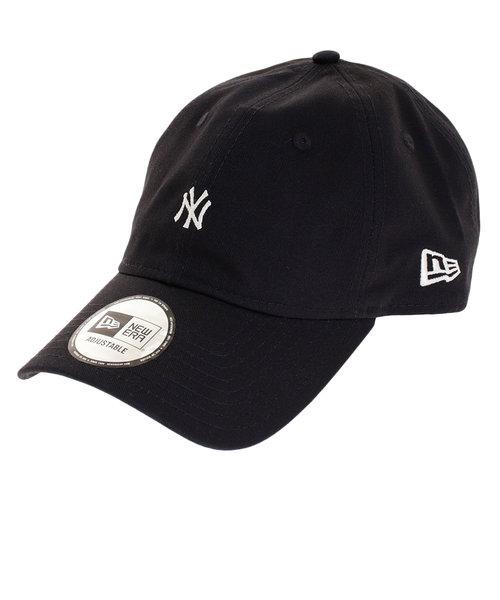 9THIRTY クロスストラップ ノンウォッシュ コットン ツイル ニューヨーク・ヤンキース キャップ 11899253