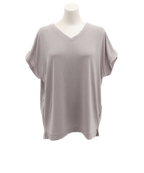 CHRISTIAN 24(CHRISTIAN 24)Tシャツ レディース 半袖 ボックスVネック CH2LS9508 GRY オンライン価格