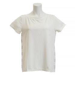 ダンスキン(DANSKIN)Tシャツ レディース 半袖 SO COOL ワイドネック DB78217 JW オンライン価格