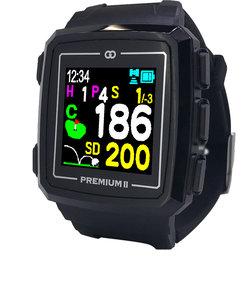 ゴルフナビ みちびきL1S対応 ザ・ゴルフウォッチ プレミアム 2 G014B 腕時計タイプ