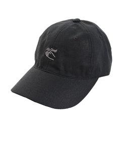 リネン刺繍キャップ Chop 897PA9ST1753 BLK