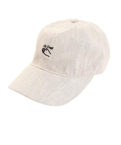 リネン刺繍キャップ Chop 897PA9ST1753 NTL