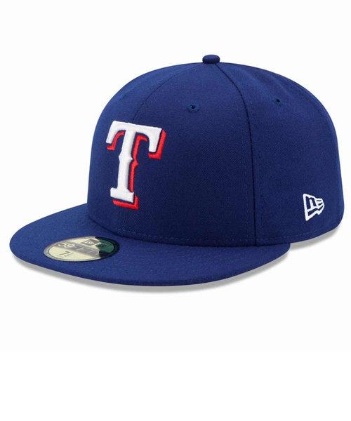 ニューエラ(NEW ERA)59FIFTY MLB On-Field テキサス・レンジャーズ ゲーム 11449334