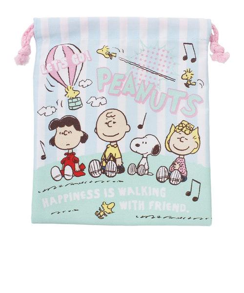 カンサイスポーツ(KANSAIスポーツ)巾着 スヌーピー フレンズ ES231AB