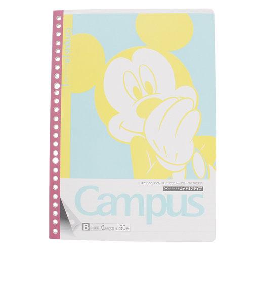 ミッキーマウス(Mickey Mouse)キャンパス リーフノート ミッキー S2627523