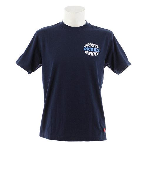 ディッキーズ(Dickies)バックプリント Tシャツ 192U30WD07-NV 半袖 オンライン価格
