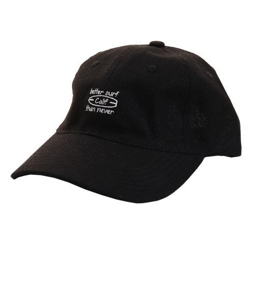 リネン刺繍キャップ Calif 897PA9ST1746 BLK