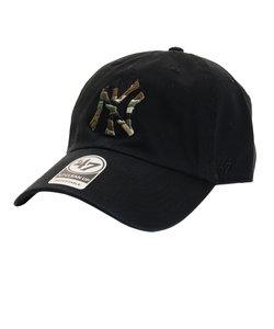 フォーティーセブン ブランド(47 Brand)ニューヨーク ヤンキース Camfill47CLEA B-CMFIL17GWS-BK