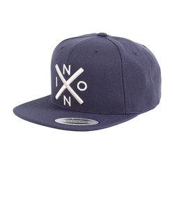 ニクソン(NIXON)EXCHANGE SNAPBACK HAT ALL NAVY/CREAM NC20662849-00