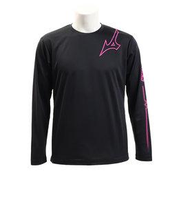ミズノ(MIZUNO)長袖プラクティスシャツ Tシャツ V2MA959096 【バレーボールウェア スポーツウェア メンズ】