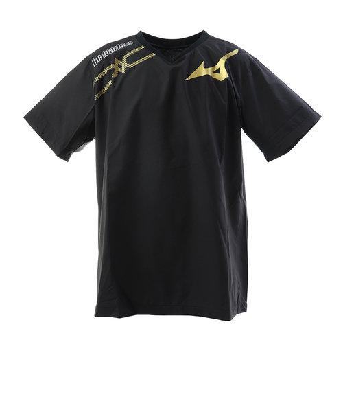 ミズノ(MIZUNO)半袖ブレーカーシャツ V2ME950197 【バレーボールウェア ピステシャツ トップス】