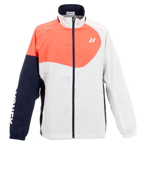 ヨネックス(YONEX)ウィンドウォーマーシャツ ブレーカージャケット 70068-011 【テニスウェア メンズ 】 ヒートカプセル 防寒