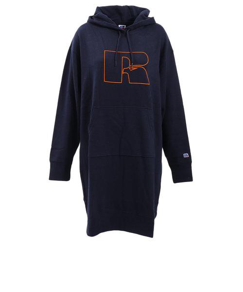 ラッセル(RUSSELL)NB logo print ワンピース RBL19F1007 NVY オンライン価格