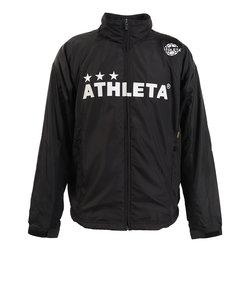 アスレタ(ATHLETA)サッカー ウェア メンズ 裏地付きウィンドジャケット 2322 BLK