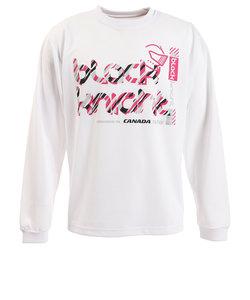ロングTシャツ T-9290-WHT