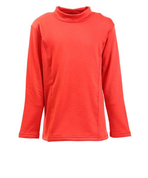 ピージー(PG)ジュニア GRID WARM GEAR ハイネック フリースシャツ 862PG9JY8172 ORG オンライン価格