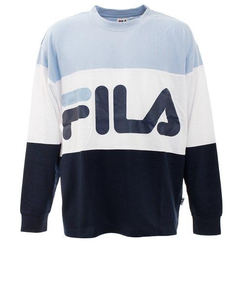 フィラ(FILA)Tシャツ メンズ 長袖 切替 FM5006-10