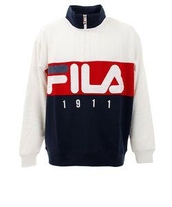 フィラ(FILA)切替ハーフジップスウェット FM5012-02 オンライン価格