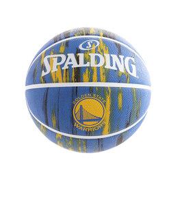 スポルディング(SPALDING)バスケットボール 5号球 (小学校用) ジュニア ウォリアーズ マーブル ラバー 83-929J  自主練