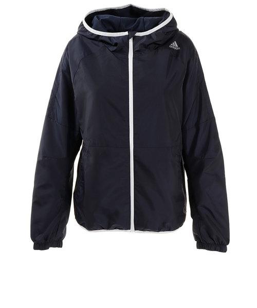 アディダス(adidas)スポーツウエア レディース ウィンドフードジャケット FYB78-ED3840 オンライン価格